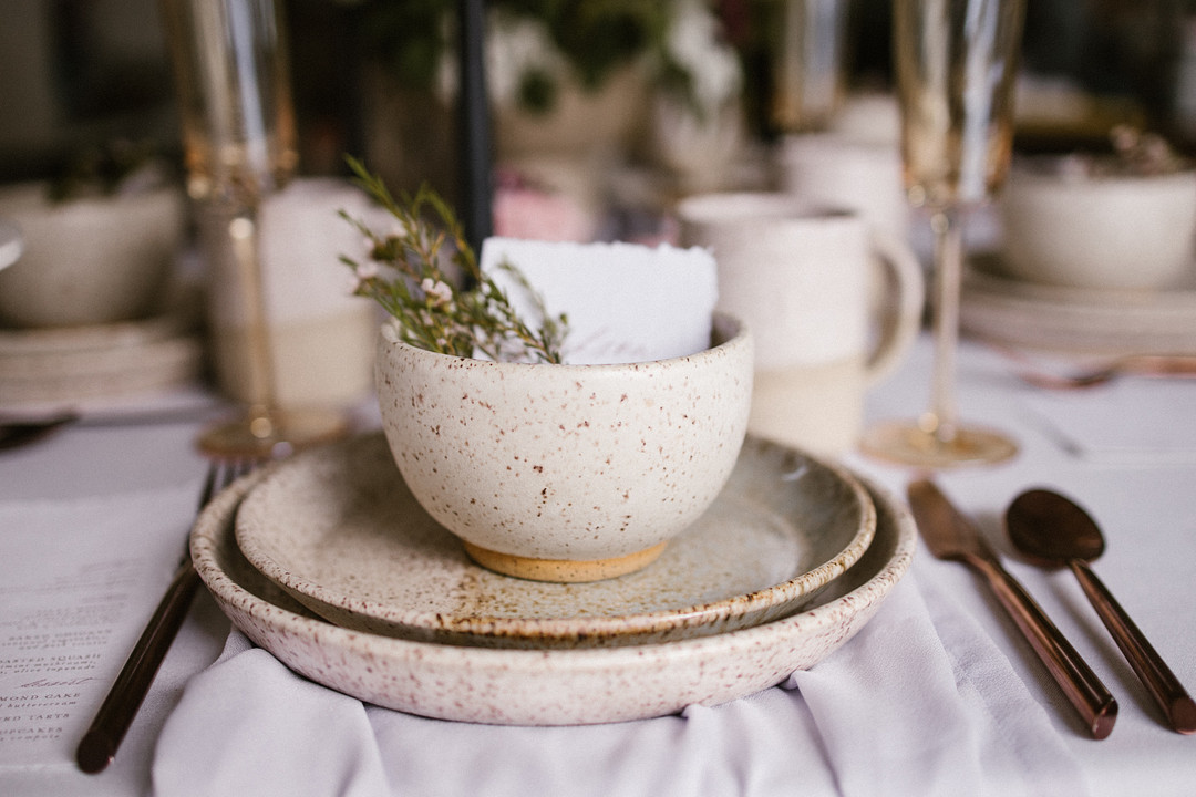 An Intimate Ceramic She Shed Dinner Party