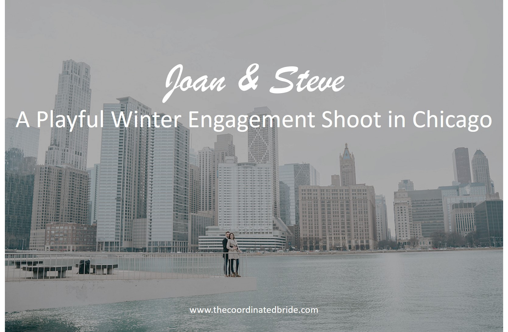 A Playful Winter Engagement Shoot in Chicago