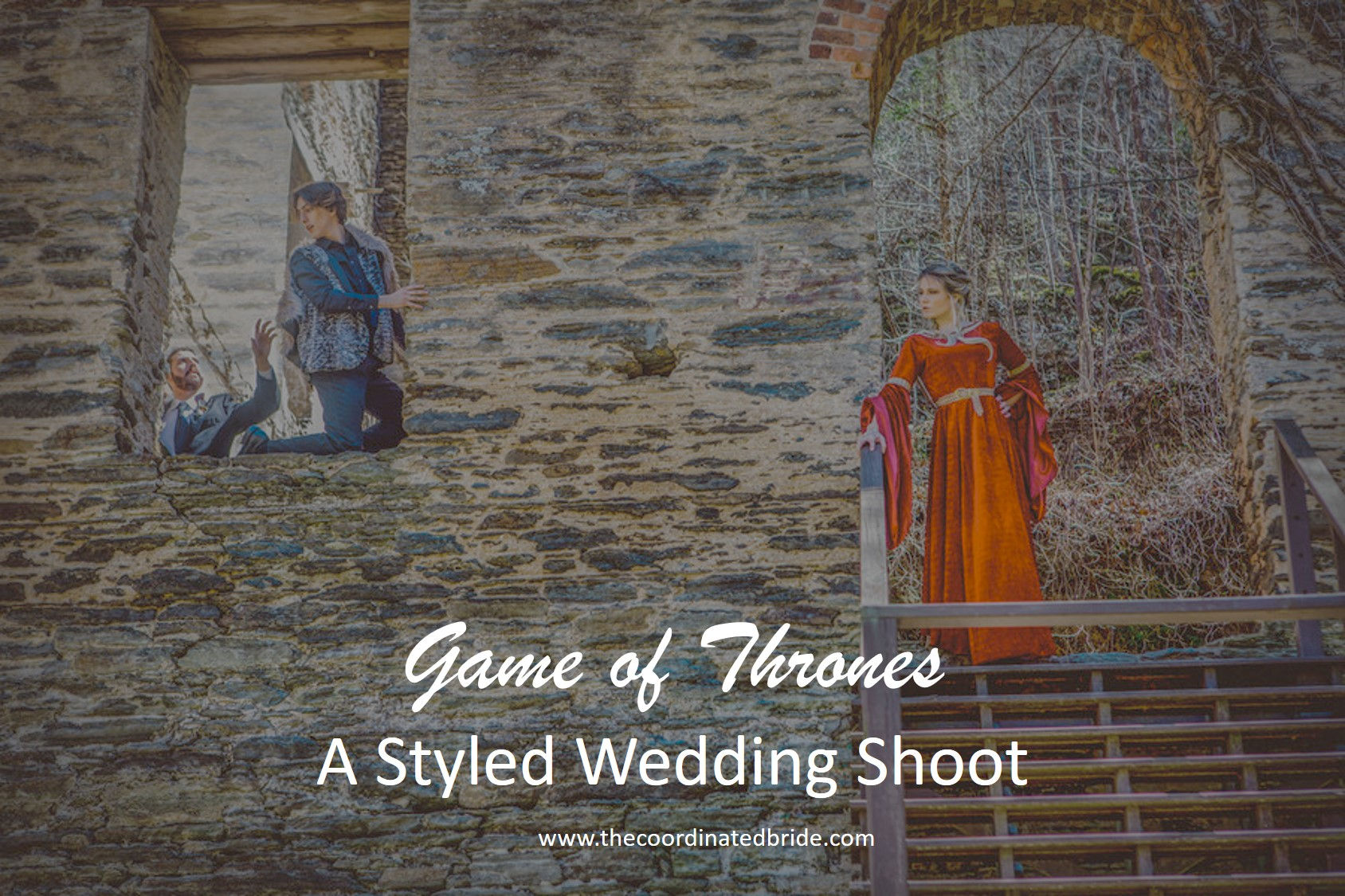 A Vibrant Game of Thrones Themed Wedding Shoot