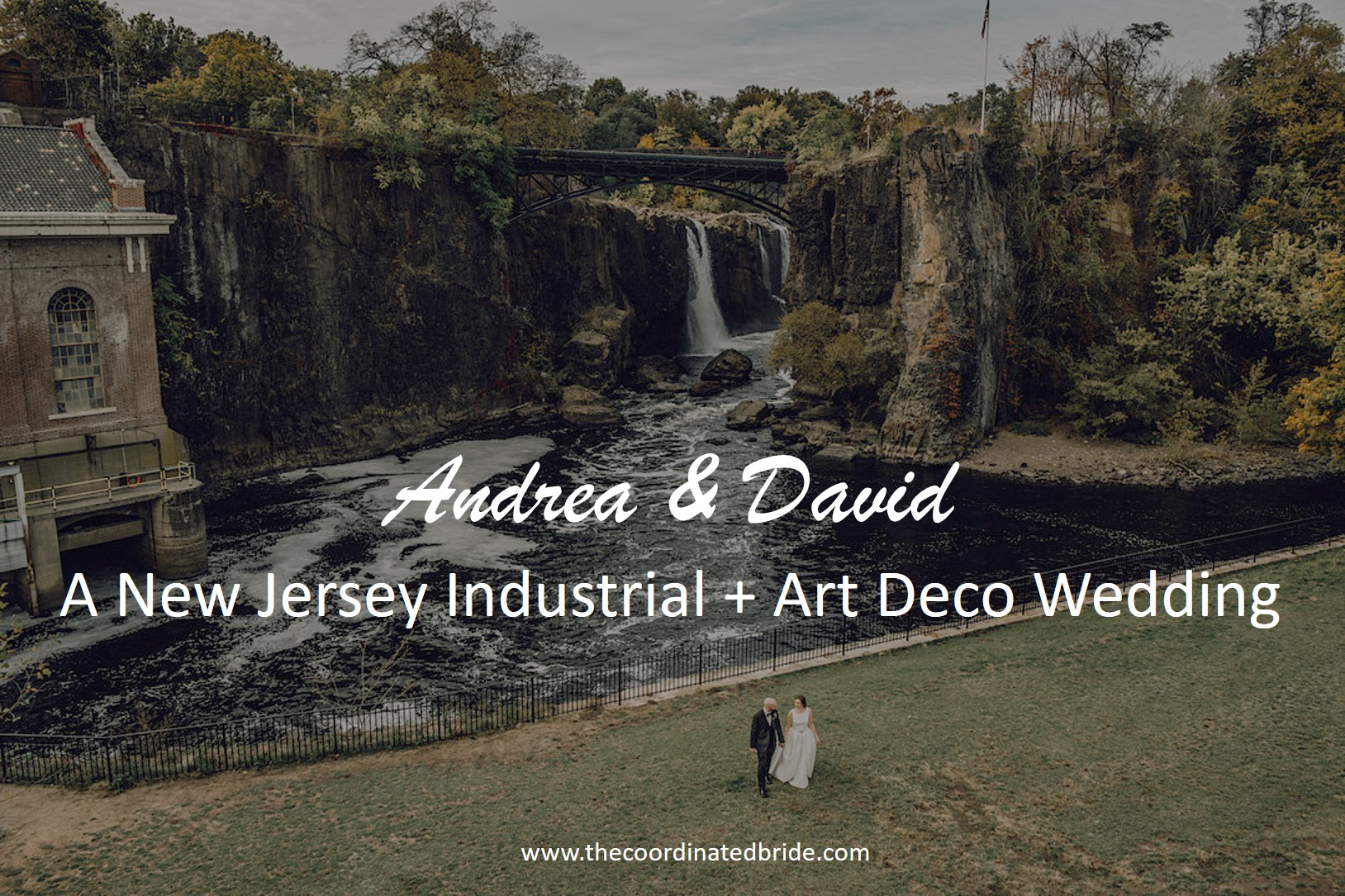Industrial Wedding with Art Deco & Vintage Vibes