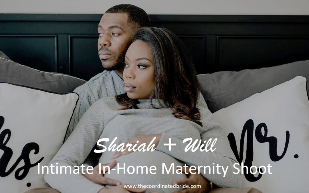 A Cozy & Intimate In Home Maternity Shoot