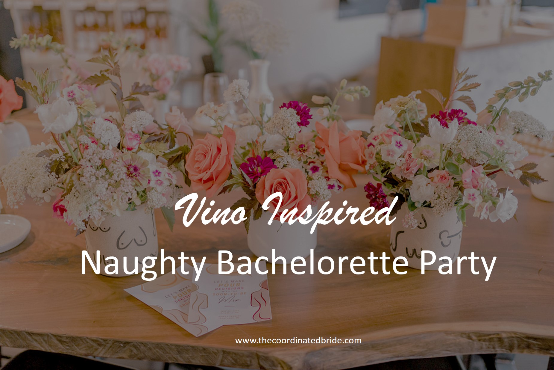 Naughty Vino Inspired Bachelorette Party in Maine