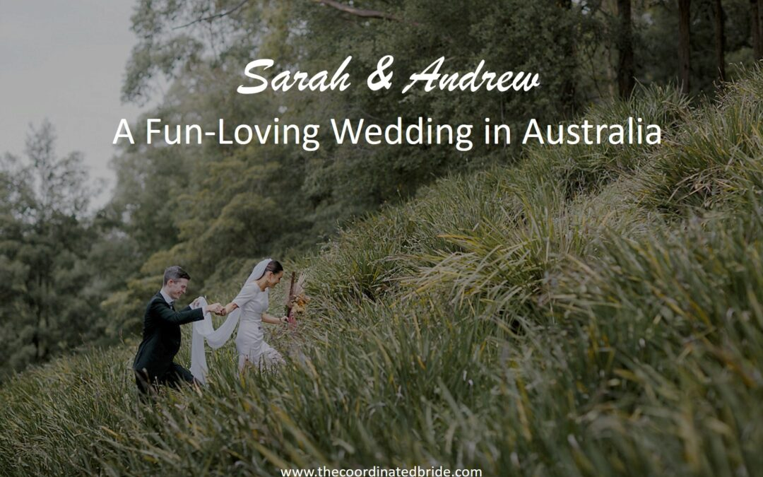 A Quirky Fun-Loving Wedding at Bundanon Trust in Australia