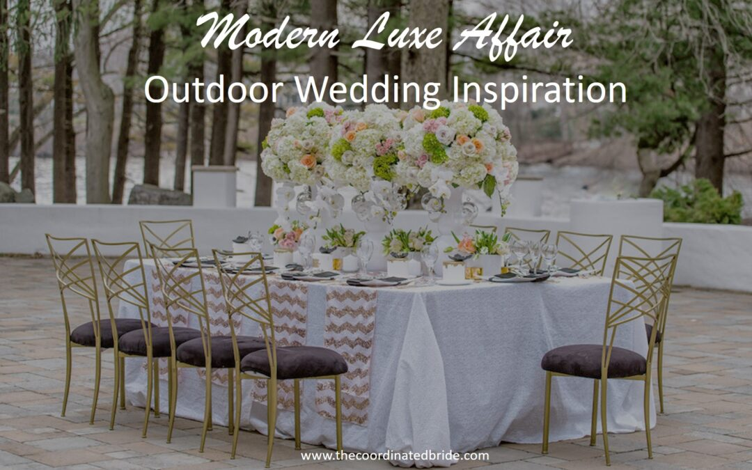 A Modern Lux Affair for the Chic & Modern Bride