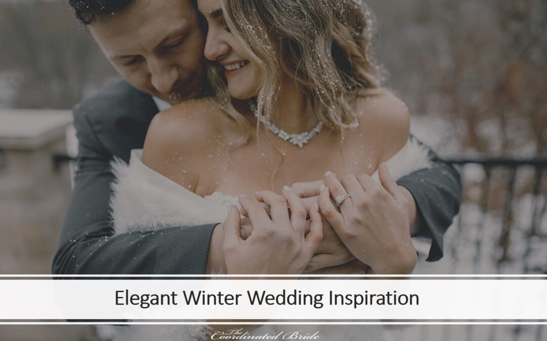 An Elegant Winter Wedding at A Renovated Victorian Era Mansion
