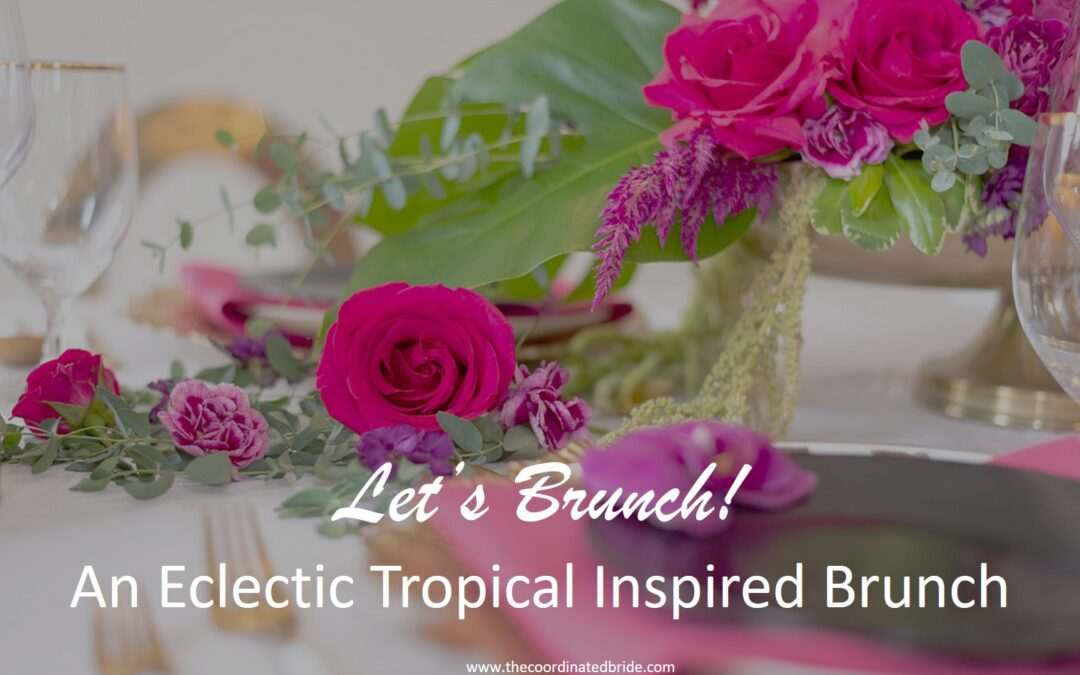 An Eclectic Tropical Island Inspired Brunch