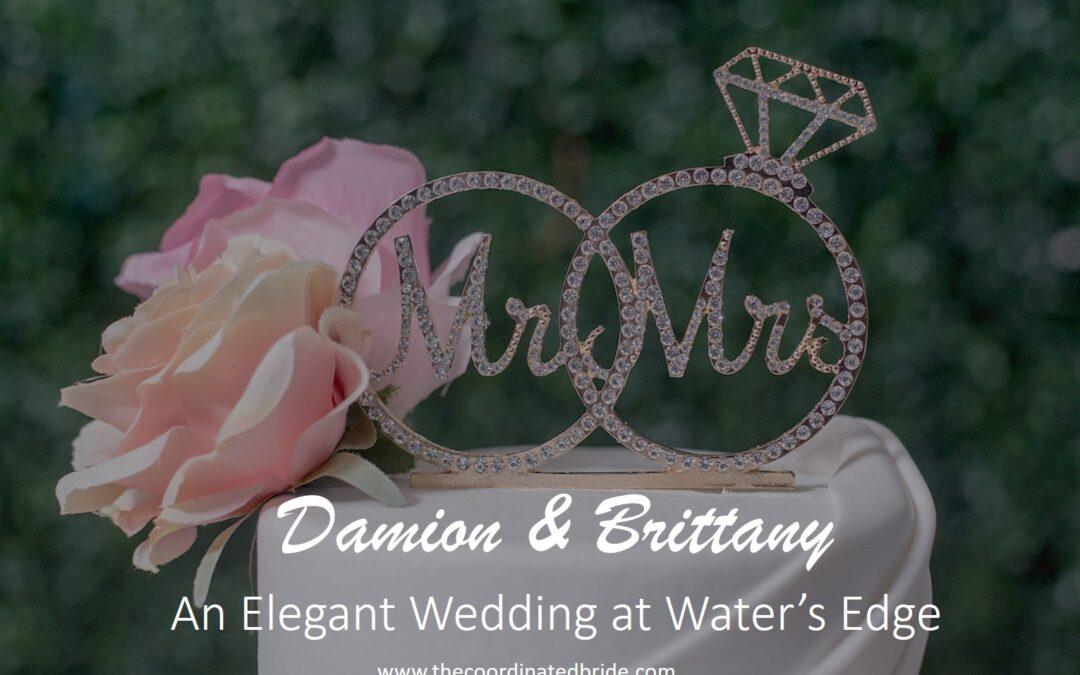 An Elegant Texas Wedding at Water's Edge