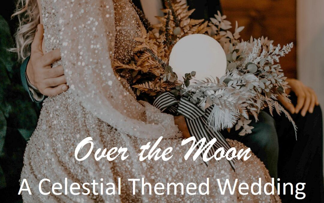 Over the Moon, A Celestial Themed Winter Wedding