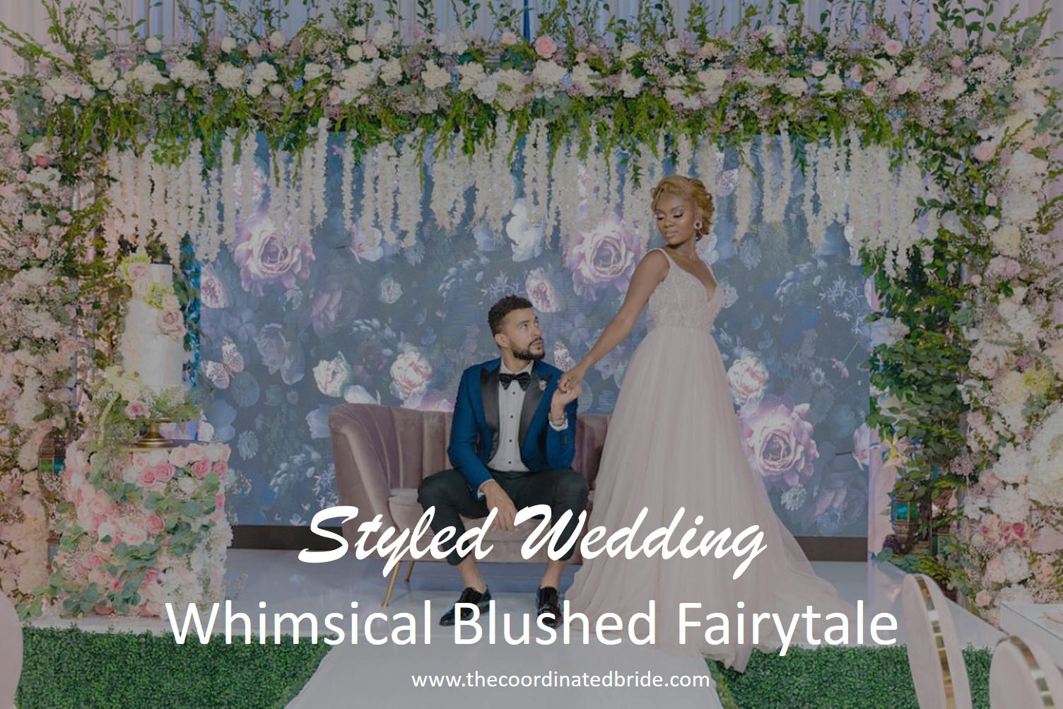 A Whimsical Blush Fairytale Styled Wedding