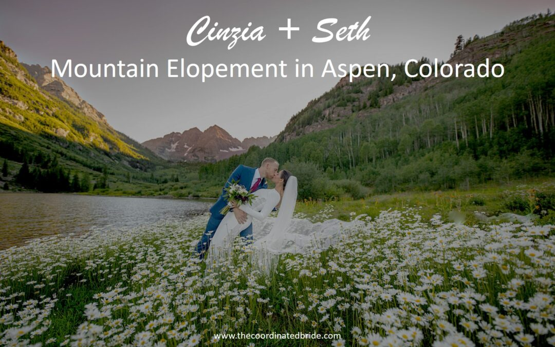 "A ""Meant-To-Be"" Mountain Elopement in Aspen, Colorado"