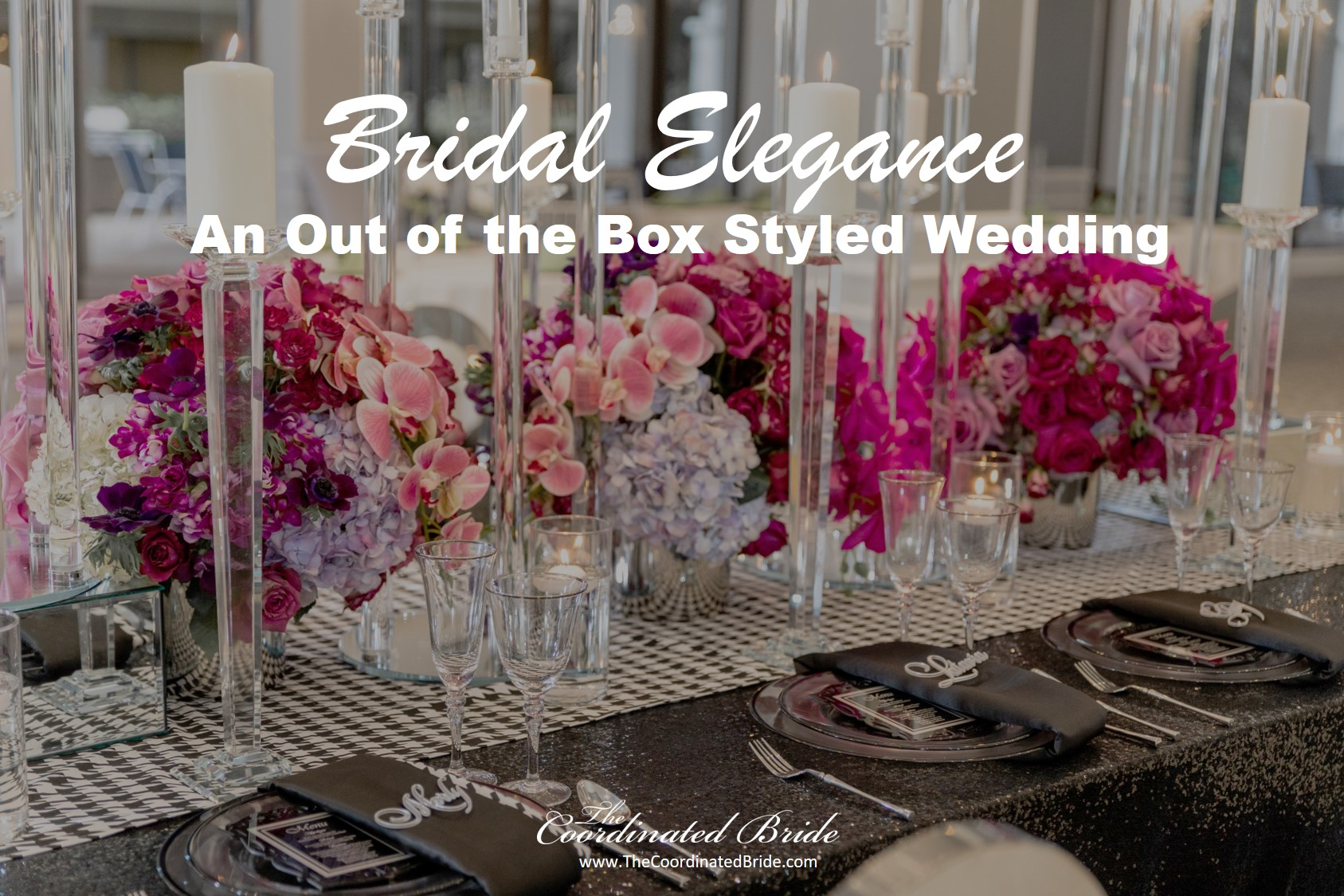 A Bold & Out of the Box Styled Wedding