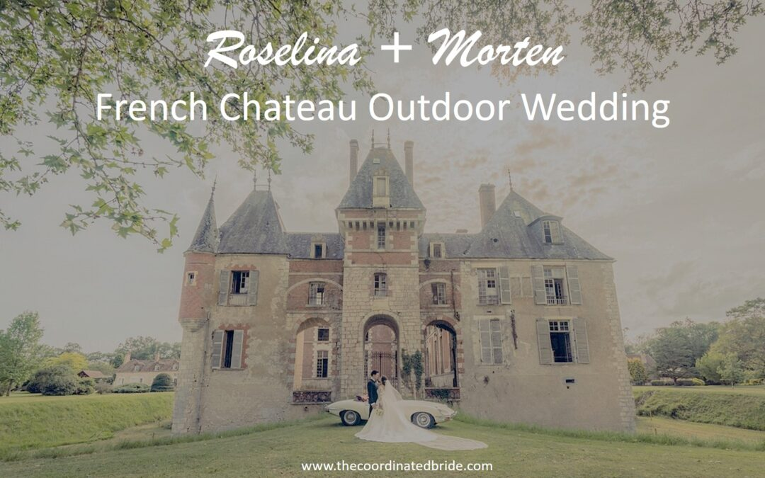 An Outdoor Wedding in an Ancient French Chateau
