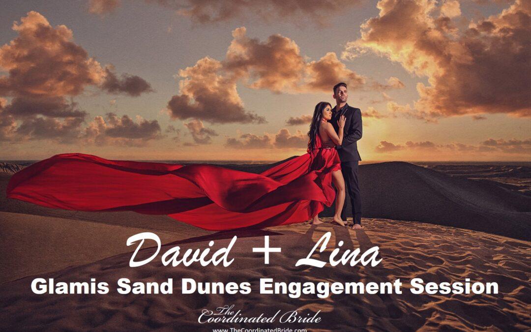 An Engagement Shoot at Glamis Sand Dunes, David & Lina