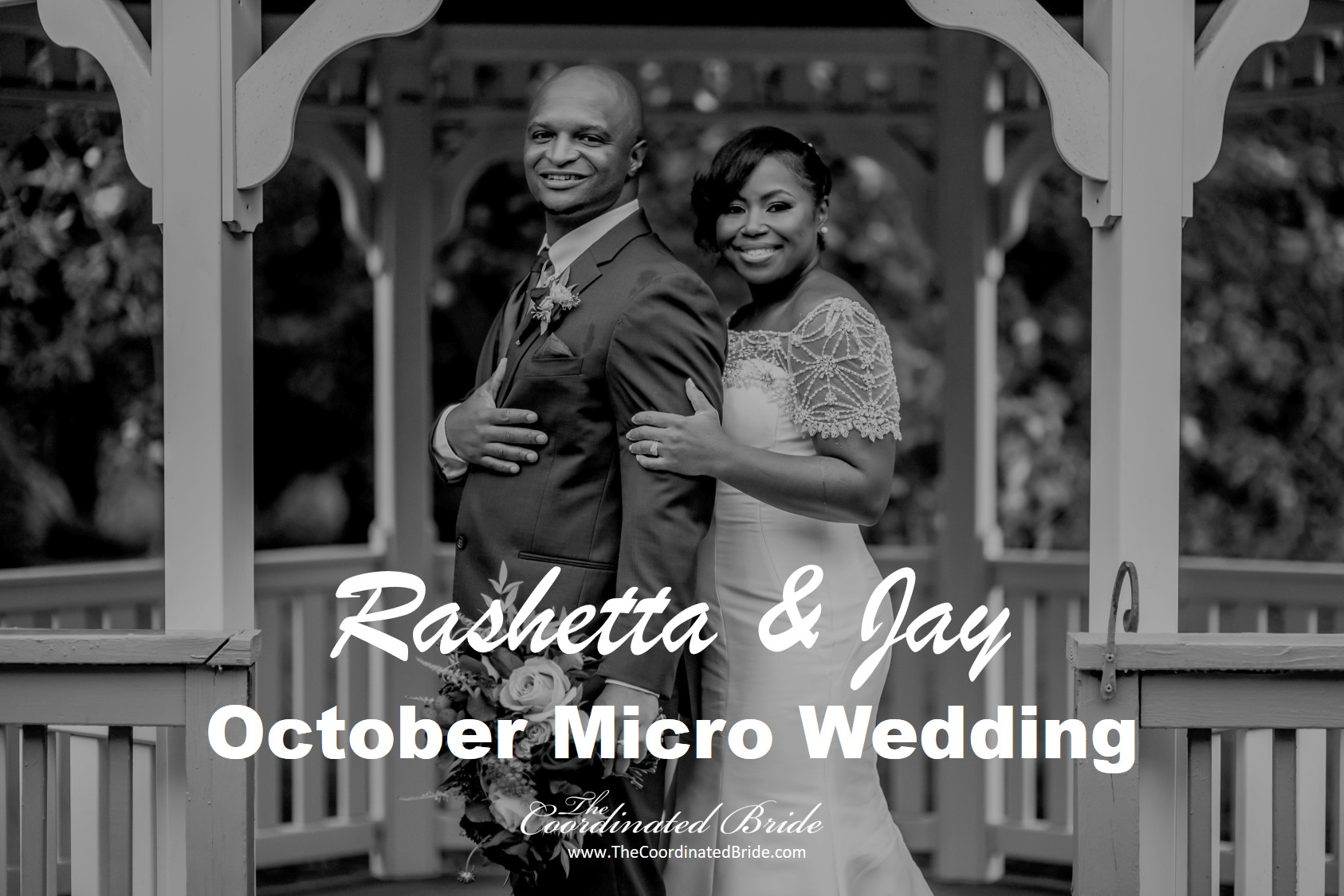 October Micro Wedding, Rashetta & Jay