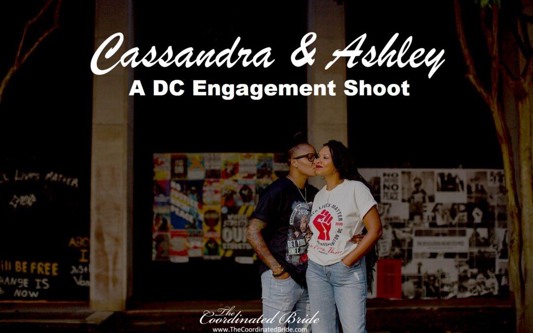 Washington, D.C. Engagement Shoot, Cassandra & Ashley