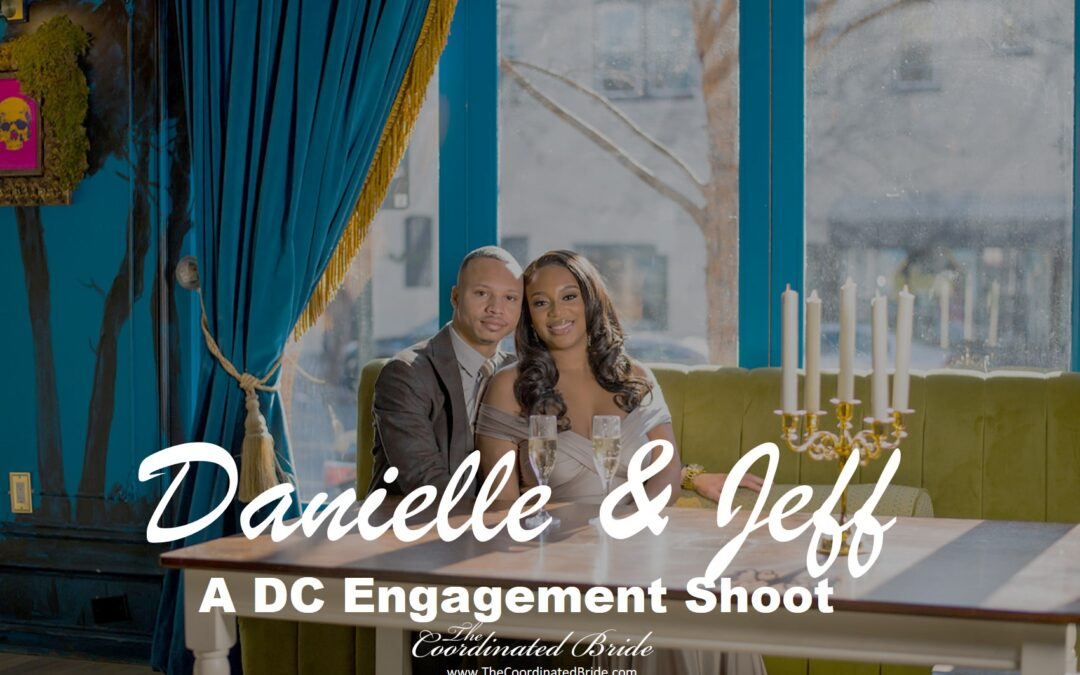 Gorgeous & Chic Engagement Shoot, Danielle & Jeff