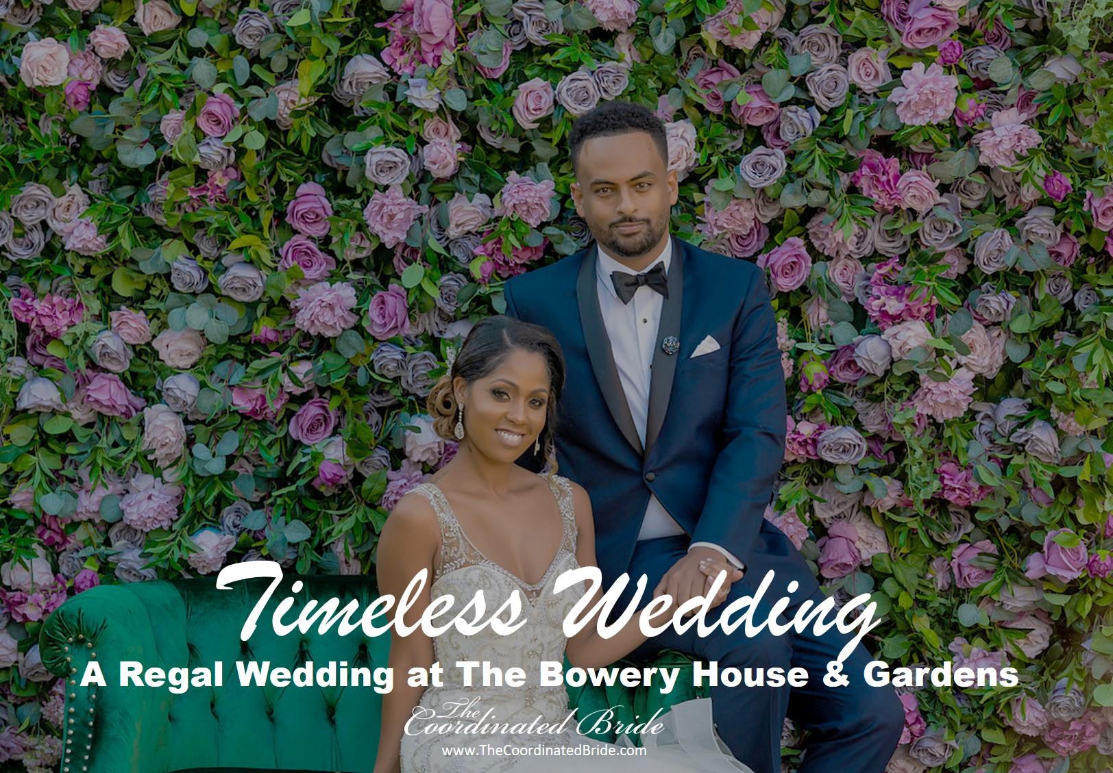 Timeless & Regal Texas Wedding