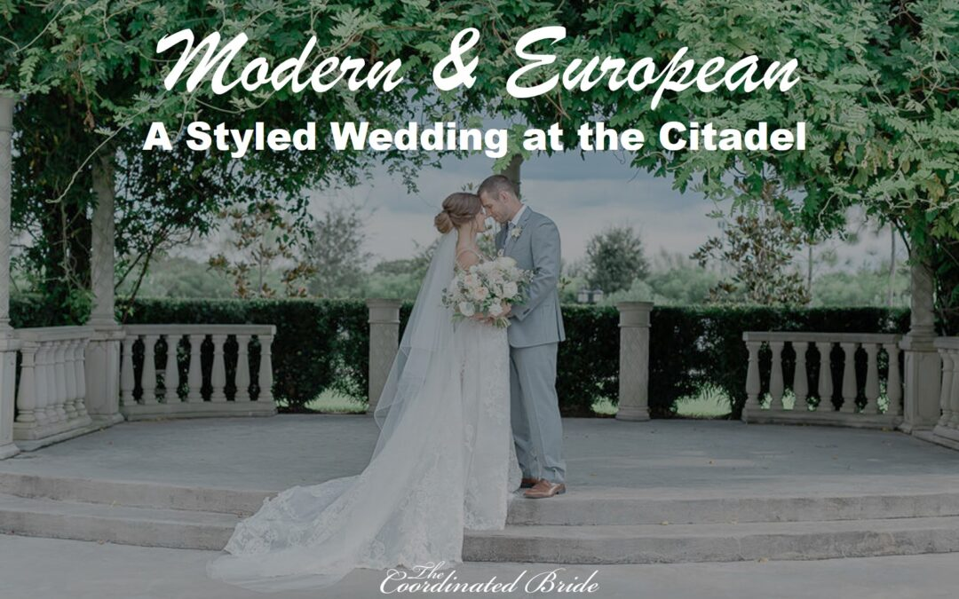 A Serene Styled Wedding at the Citadel