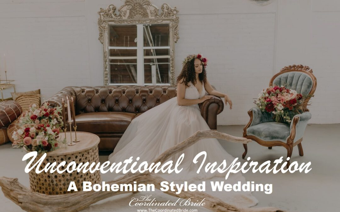 An Intimate & Unconventional Bohemian Styled Wedding