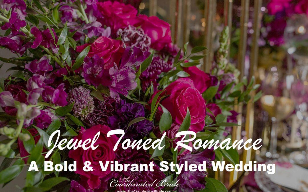 Bold & Vibrant Jewel Toned Styled Wedding