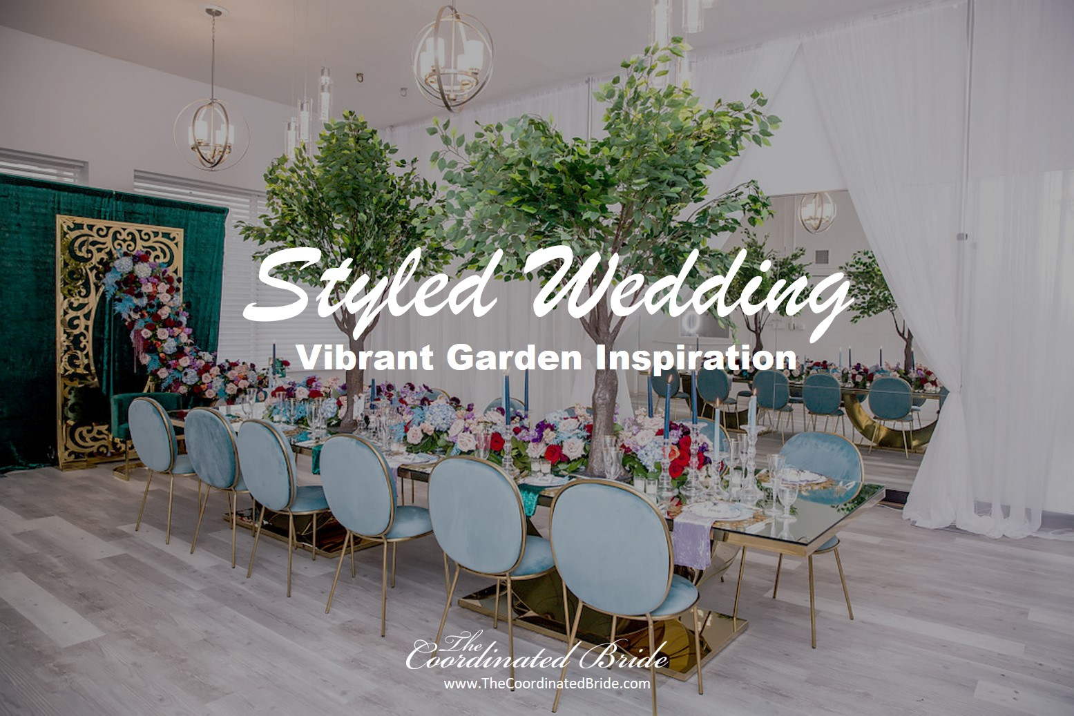 A Vibrant Garden Inspired Styled Micro Wedding