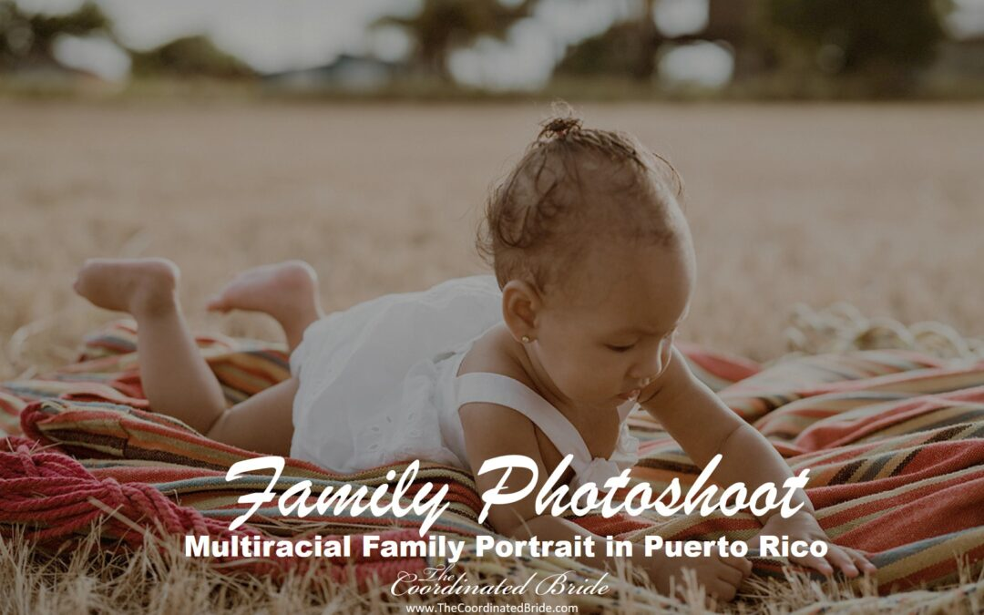 Multiracial Family Portrait in Puerto Rico with Professional Models