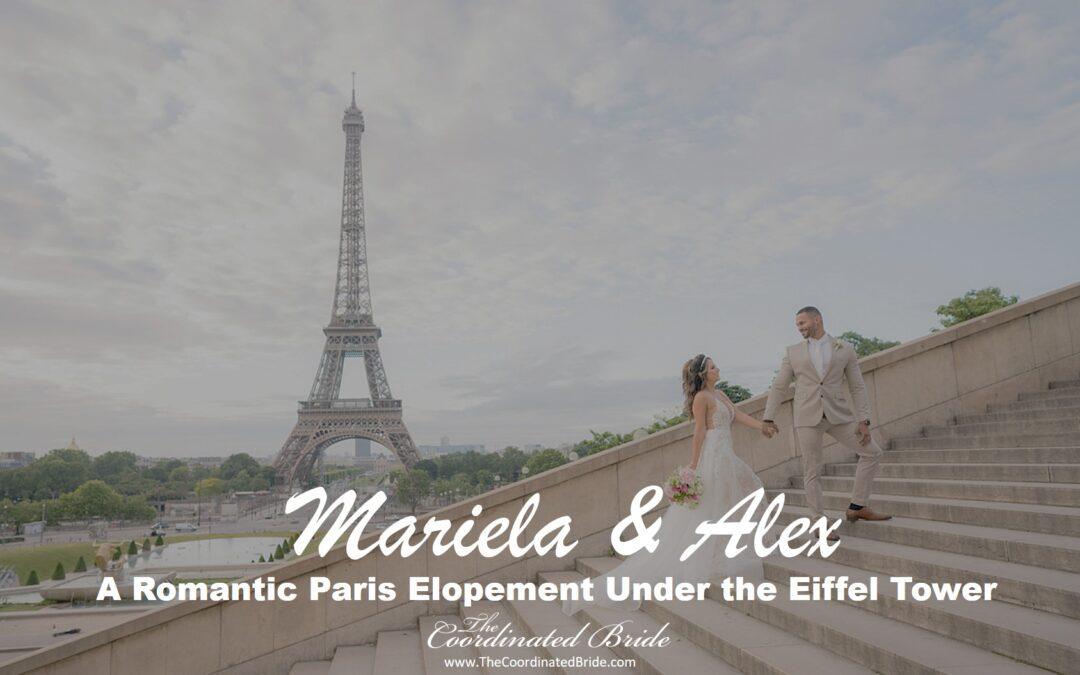 Romantic & Airy Eiffel Tower Elopement in Paris, France