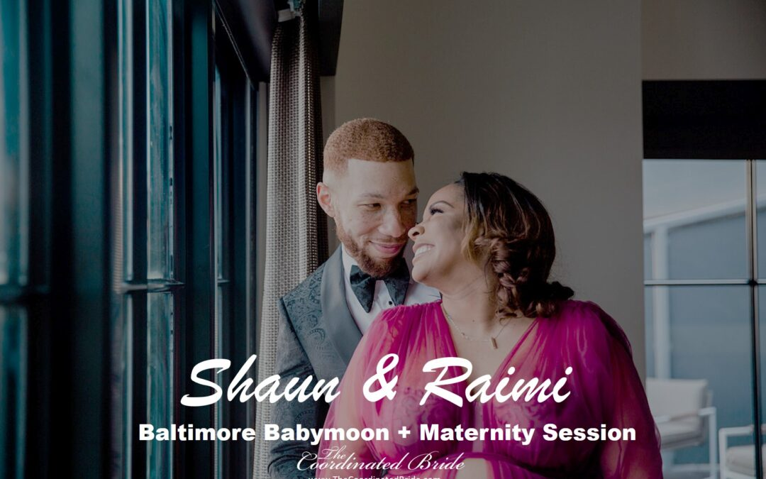 Classic & Sultry Babymoon Maternity Shoot in Baltimore