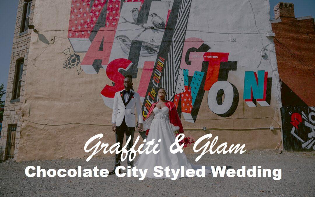 Graffiti & Glam, A Chocolate City Love Affair Styled Wedding