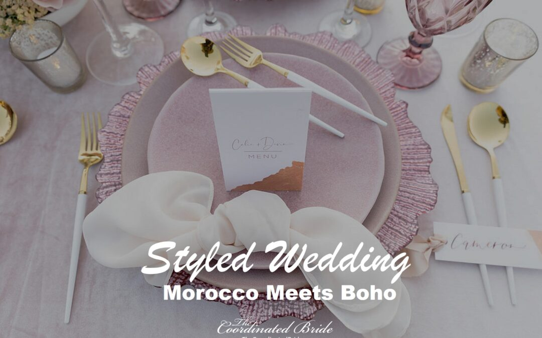 Morocco Meets Boho, A Styled California Wedding