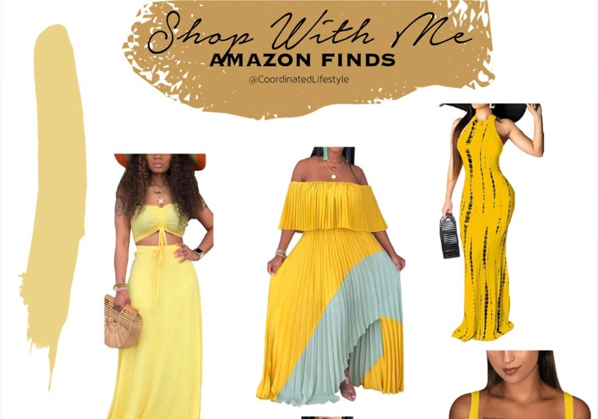 Labor Day Weekend Outfit Ideas Featuring Yellow