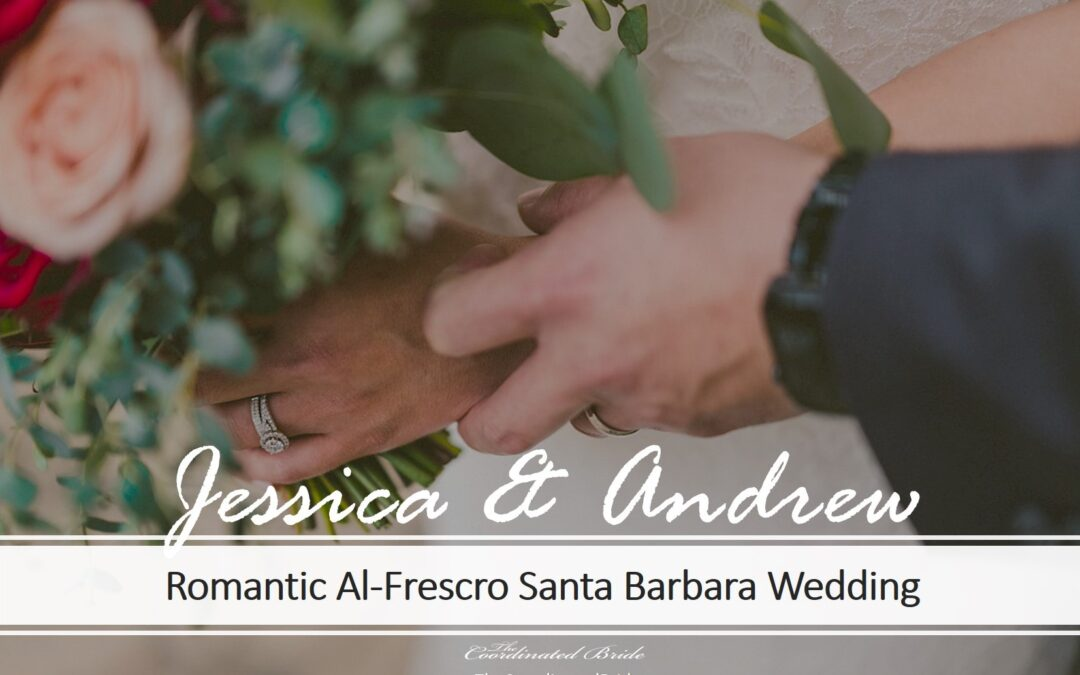 Romantic Al-Fresco Santa Barbara Courthouse Wedding, Jessica & Andrew