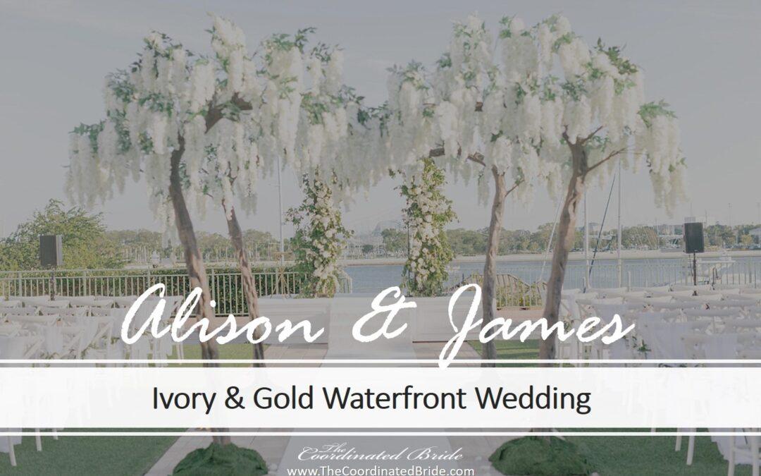 Ivory & Gold Florida Wedding at the Vinoy Renaissance
